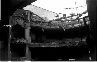 The Demolition of the Palace Theatre. Cheapside Reading